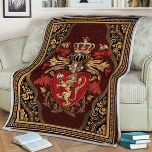 Coat Of Arms Norway Blanket / S (51 X 59 Inches - 4 5 Feet ) Qm1334