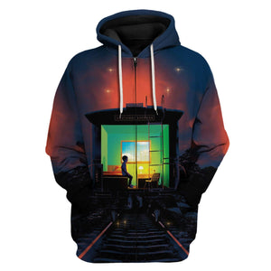 The Institute - Stephen King Zip Hoodie / S Vn804
