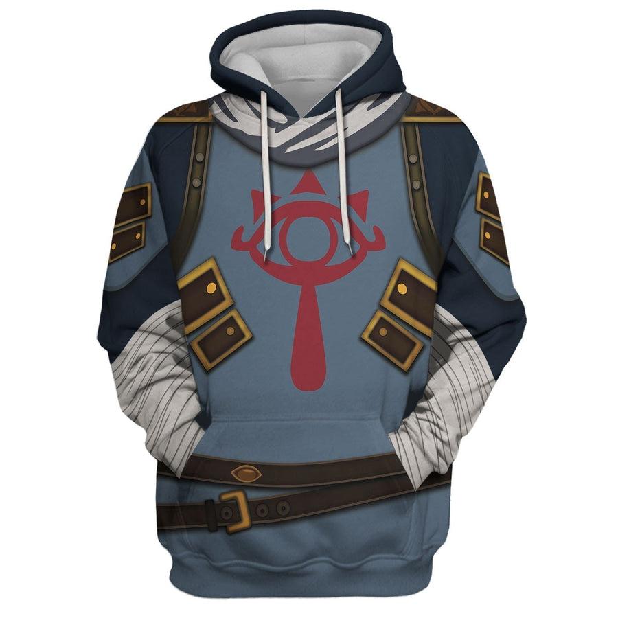 Stealth Set Link All Over Print Hoodie / S Hp44
