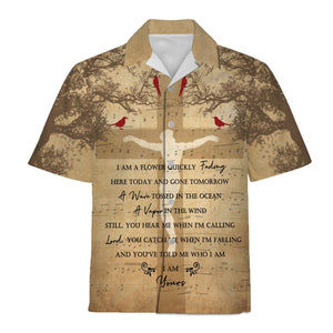 Jesus Who Am I Hawaiian Shirt / S Vn777