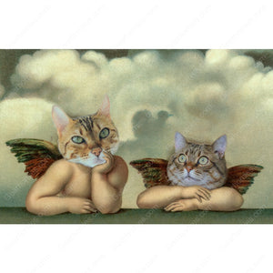 Gearhomies 3D Custom Poster Cherubs Wall Decor