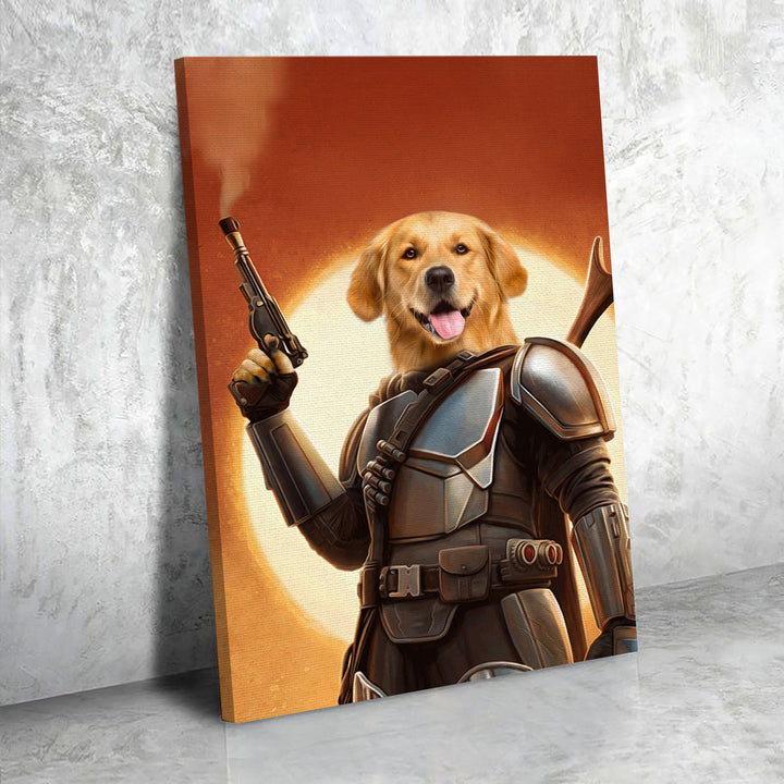Customized Photos Canvas The Space Hunter