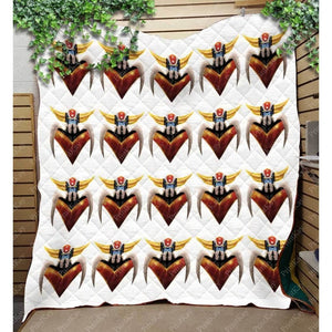 Prinkays 3D Grendizer Quilt Throw Mv1431