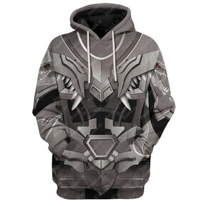 Qm5320 All Over Print Hoodie / S