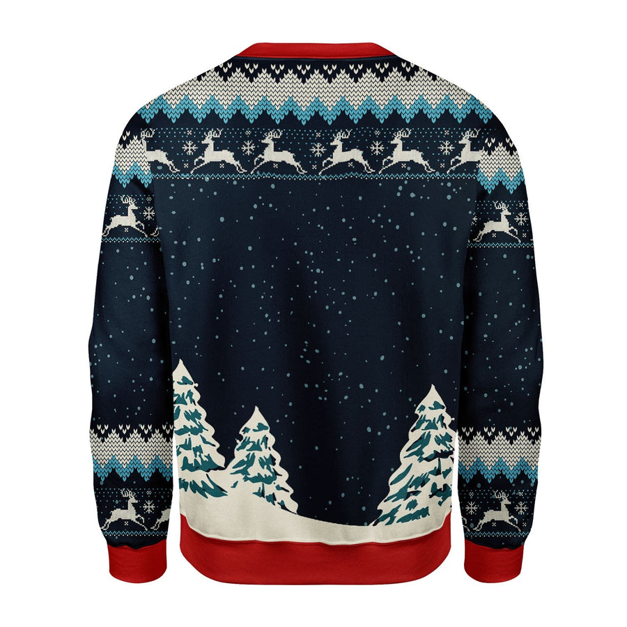 Deer Hunting Ugly Sweater Kd256