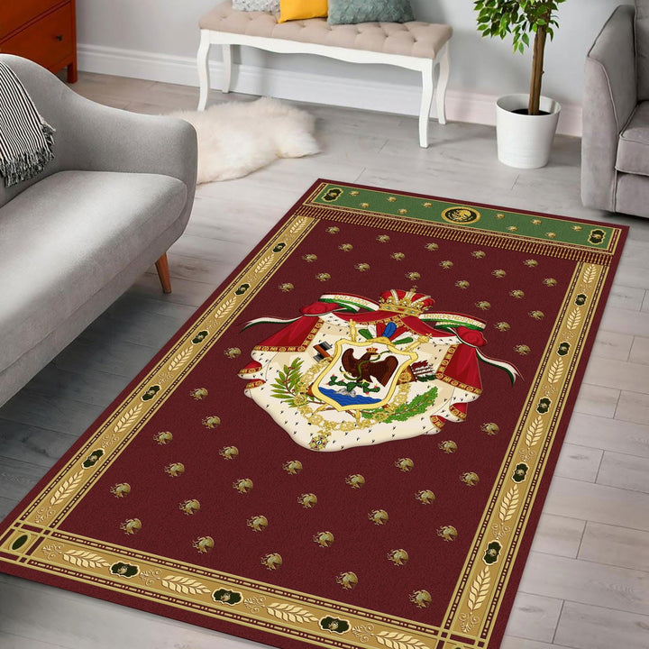 First Mexico Coat Of Arms Rug / Small (3 X 5 Feet - 35 59 Inches) Qm1304
