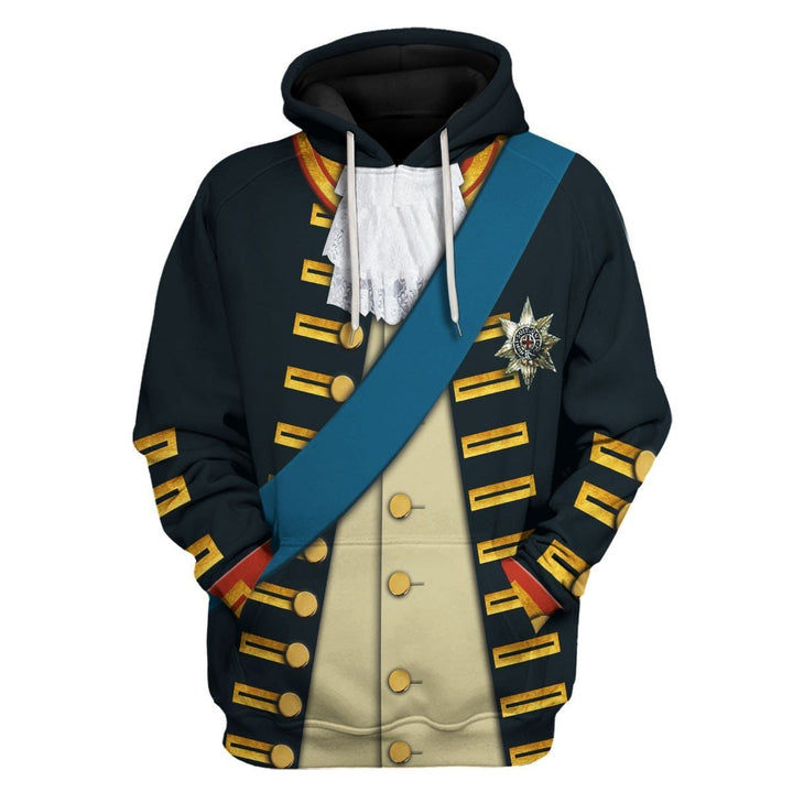 William V Prince Of Orange Hoodie / S Qm1243