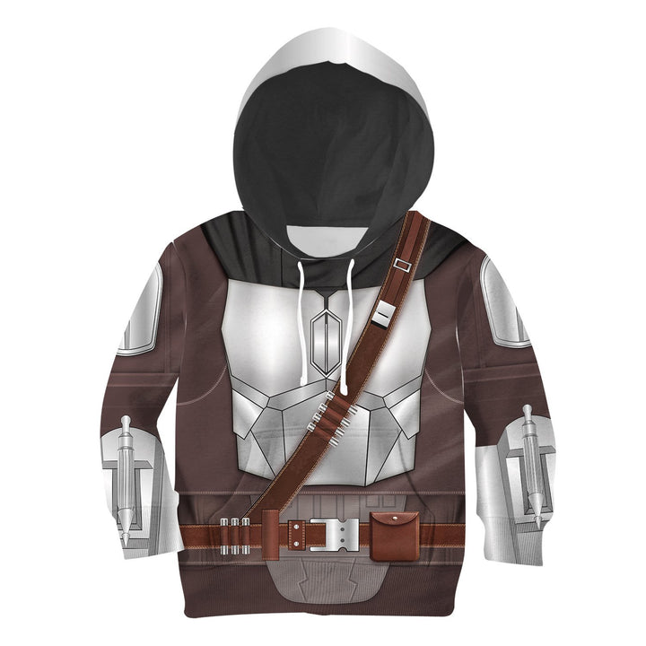 3D Kid Beskar Version Of Mando Kidqm138 Hoodie / S