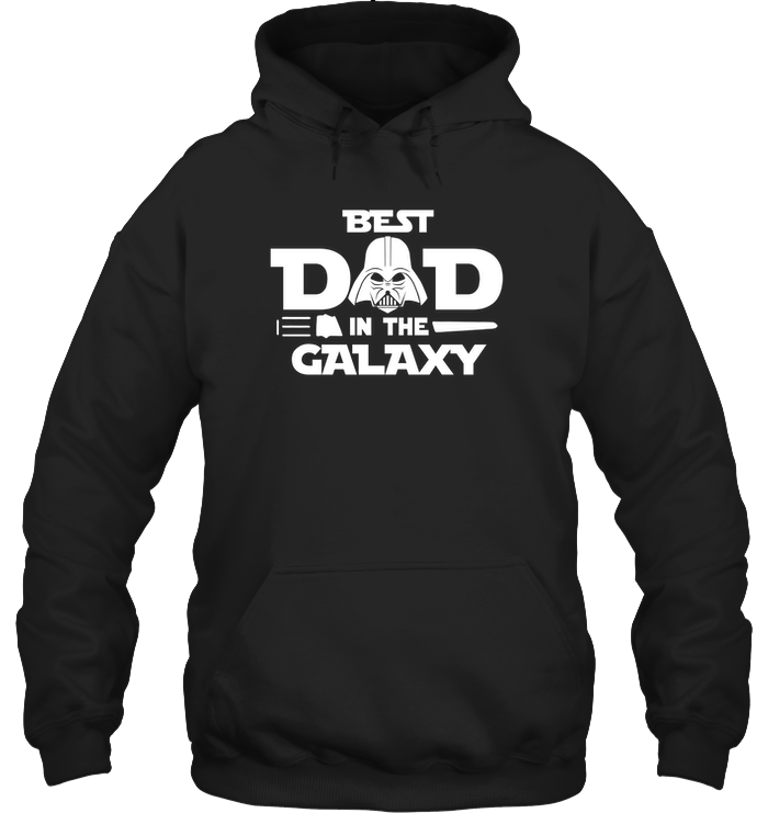 Best Dad In The Galaxy 2D Hoodie