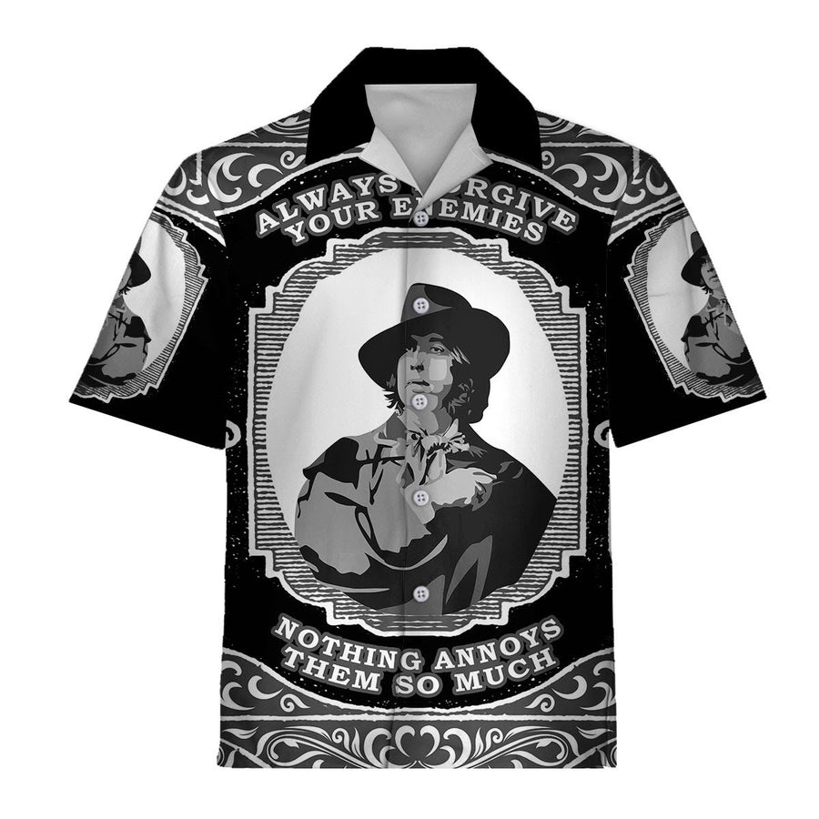 Oscar Wilde Hawaiian Shirt / S Qm1100