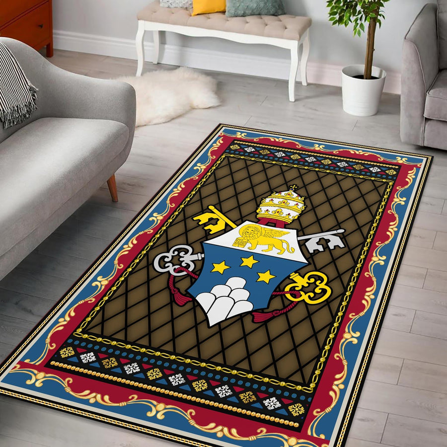 John Paul I Coat Of Arms Rug / Small (3 X 5 Feet - 35 59 Inches) Qm1392