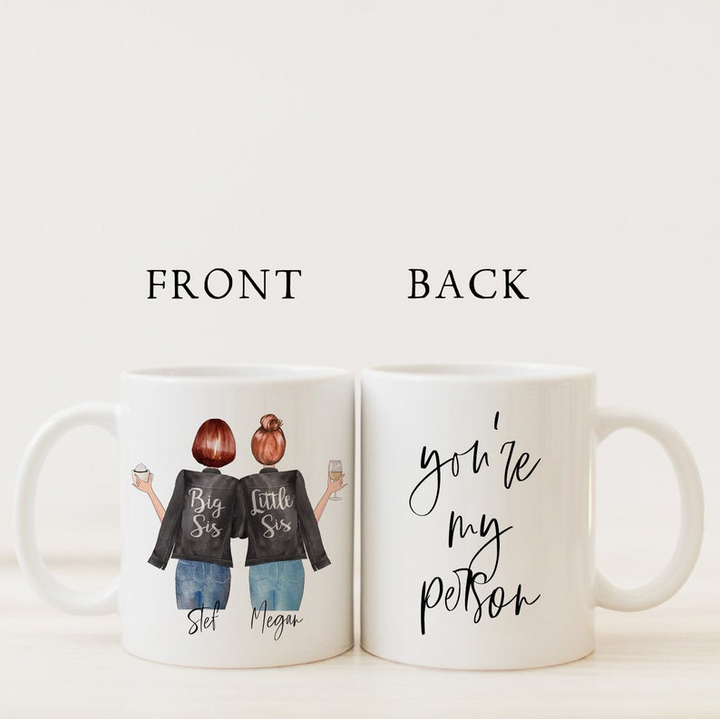 Personalized Best Friends Coffee Mug