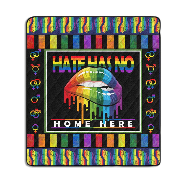Hate Has No Home Here Quilt Kd139
