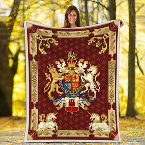 Queen Elizabeth Ii Blanket / S (51 X 59 Inches - 4 5 Feet ) Qm1528