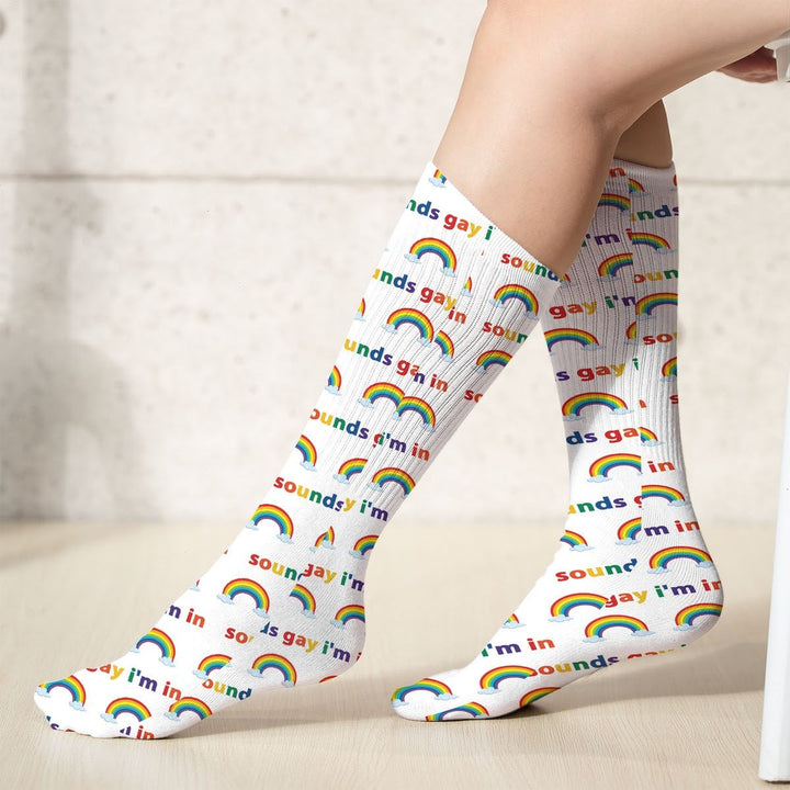 Sound Gay Im In Socks (18X3.5 Icnhes) / Pack 1 G772