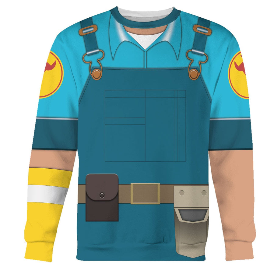 Engineer - Blue Team Vn177 Long Sleeves / S