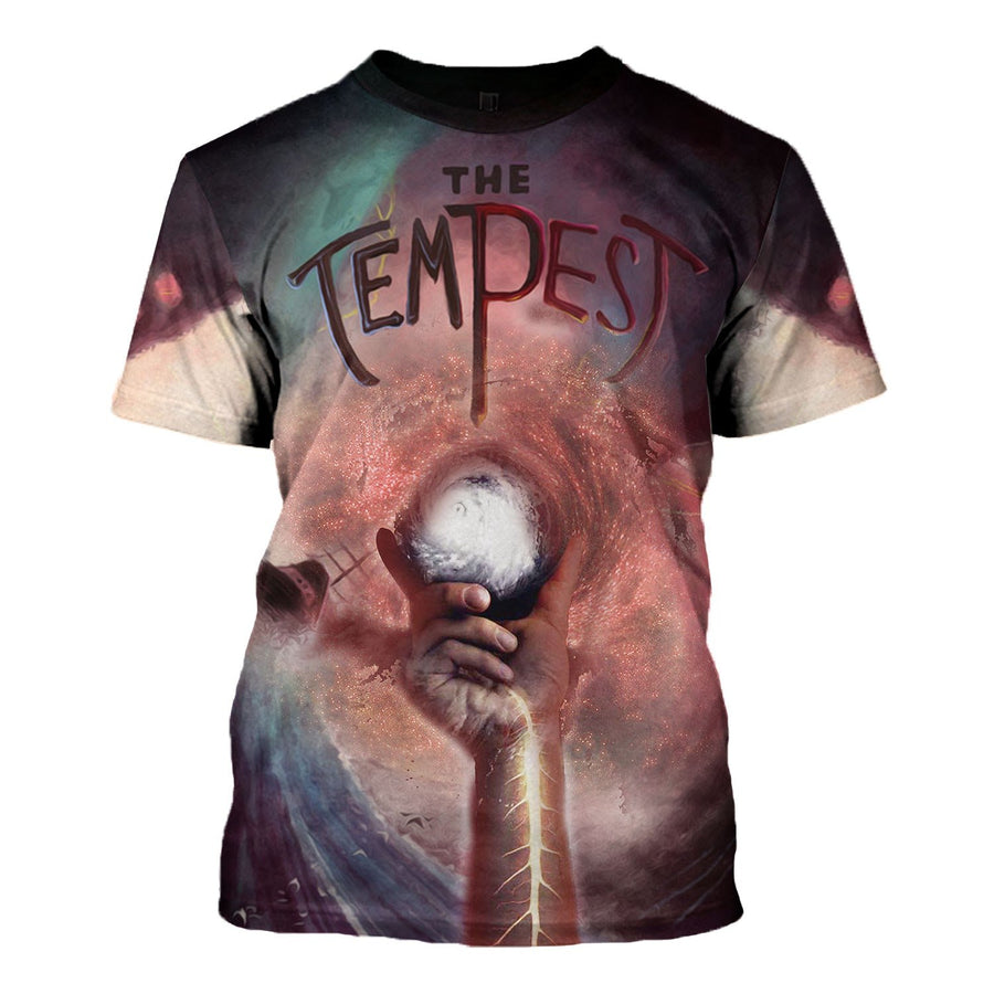 The Tempest - William Shakepeare T-Shirt / S Vn784