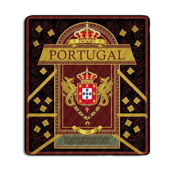 Arms Of The King Portugal Quilt / S (37.8 X 44.9 Inches/ 3.1 3.7 Feet) Qm1164