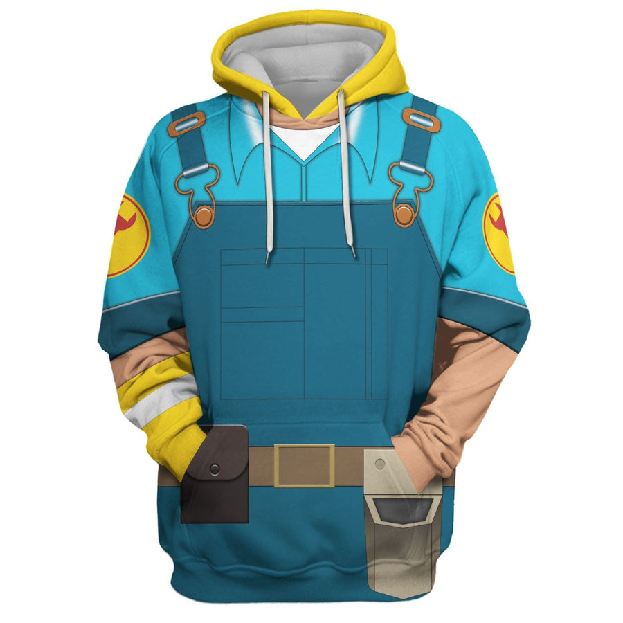 Engineer - Blue Team Vn177 Hoodie / S