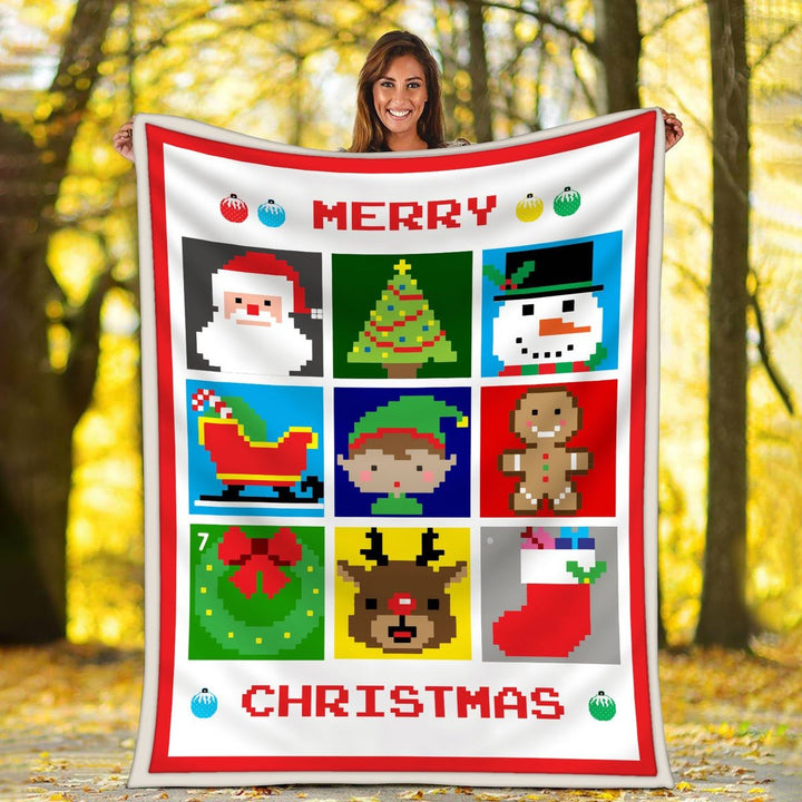 Merry Christmas Blanket Kd787
