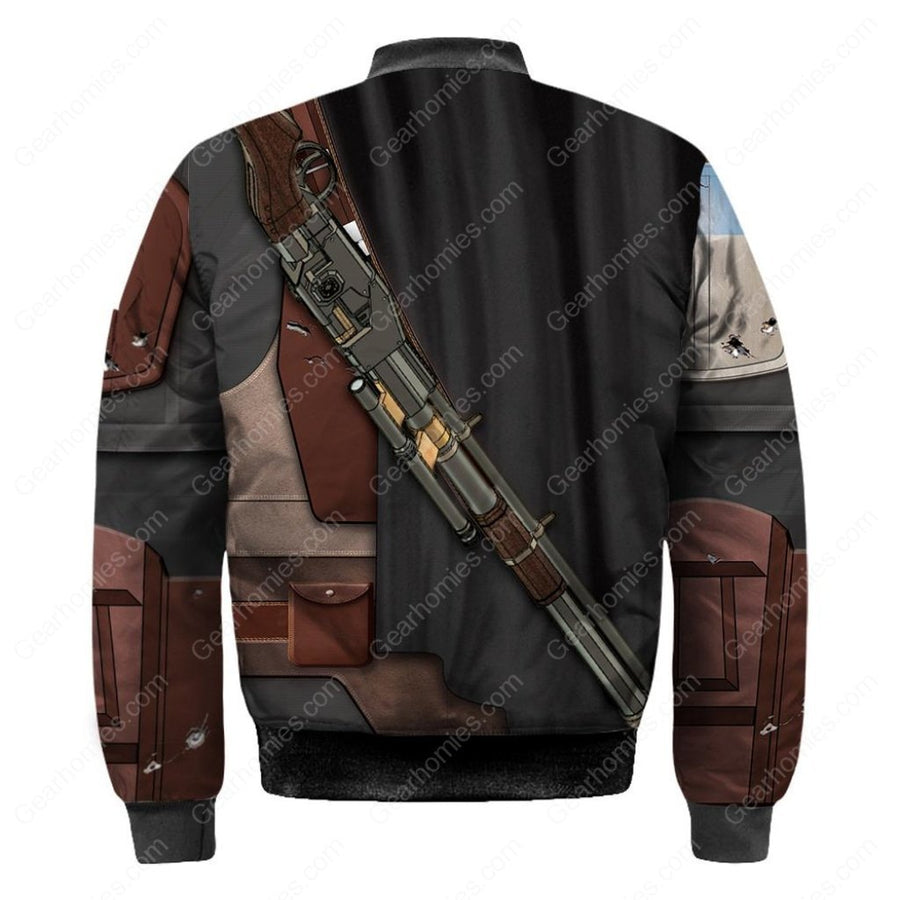 3D Mando Bomber All Over Print Qm82