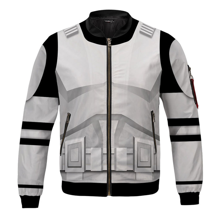 3D All Over Print Bomber Jacket