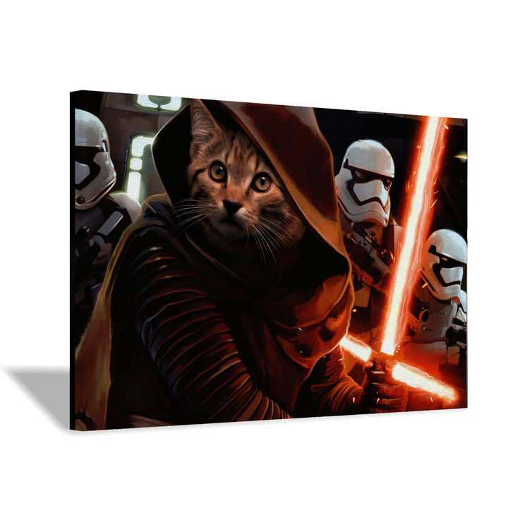 Kylo Dead Trooper - Custom Pet Canvas