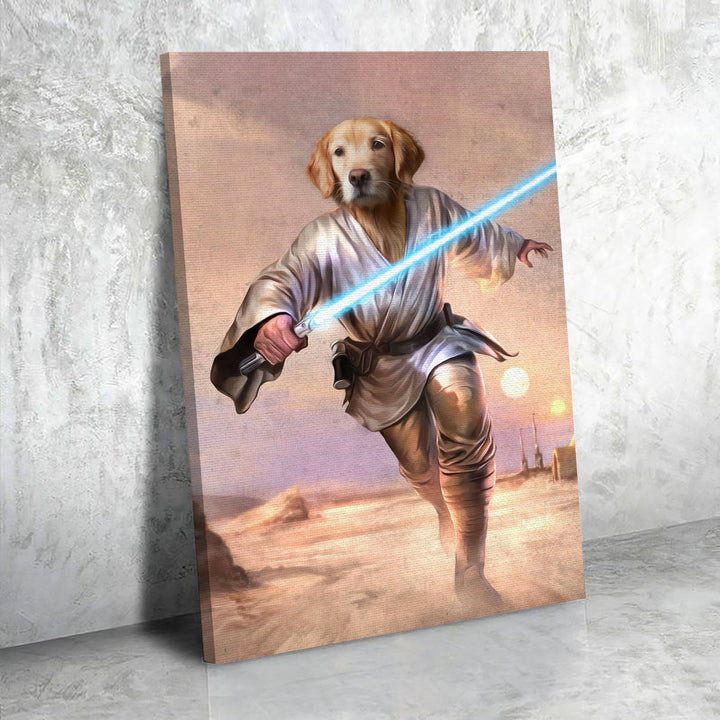 Luke Skywalker - Custom Pet Canvas
