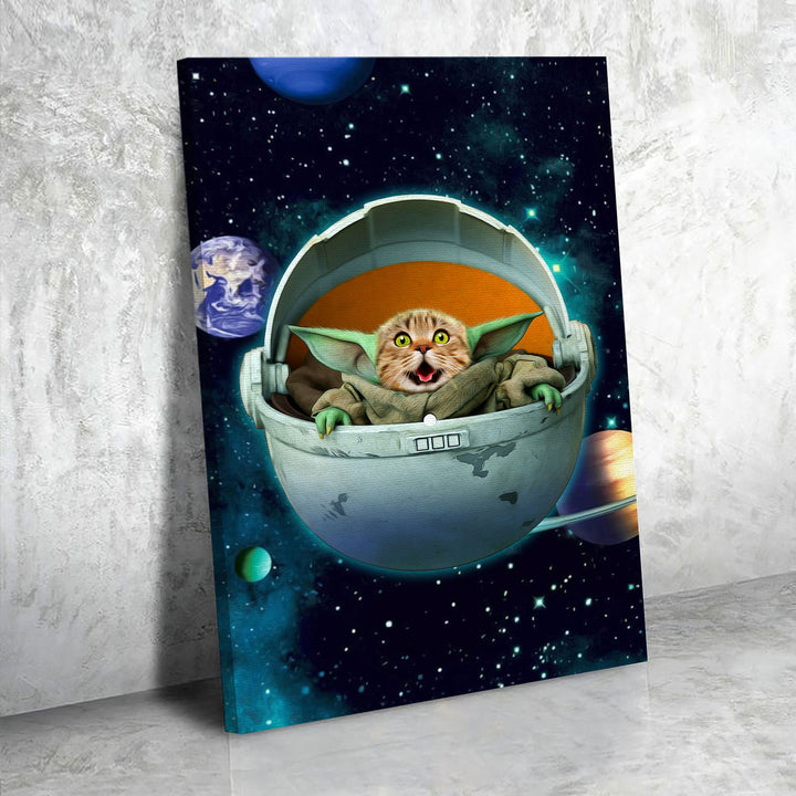 The Galaxy The Child - Custom Pet Canvas