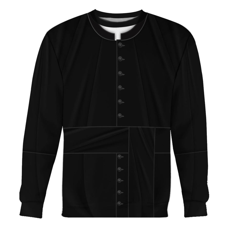 Clergy Black Suit Long Sleeves / S Vn524