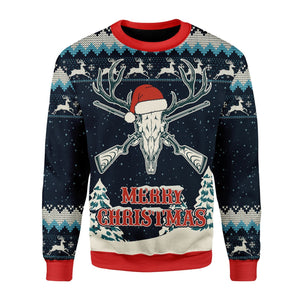 Deer Hunting Ugly Sweater / S Kd256