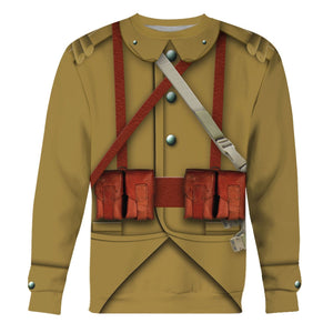 Ww2 French Empire Soldiers Long Sleeves / S Vn200