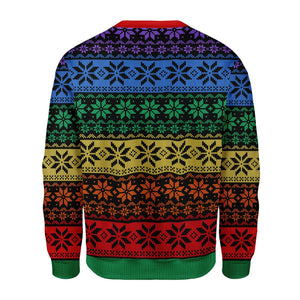 Lgbt Ugly Christmas Sweater Qr1645