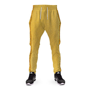 Gearhomies 3D Custom Sweatpants Gold Suit El121619-Sw