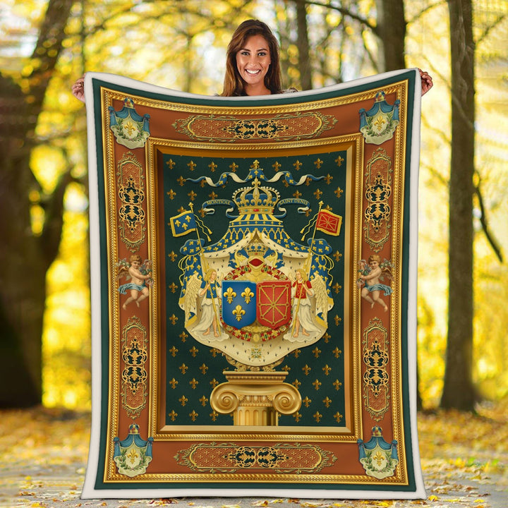 French King Louis Xv Blanket Qm1175