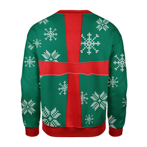Present Ugly Christmas Sweater Qm1583