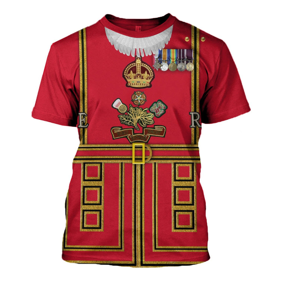 Beefeaters Tower Of London T-Shirt / S Hp366
