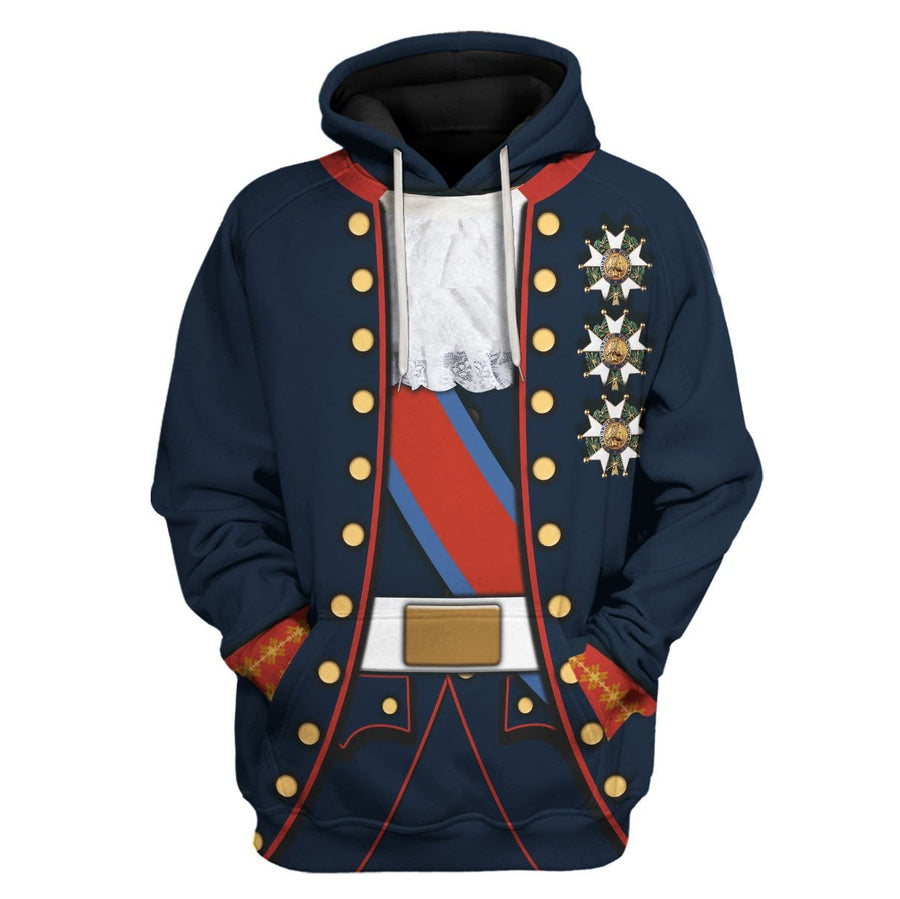 Ferdinand I Of The Two Sicilies Hoodie / S Vn382