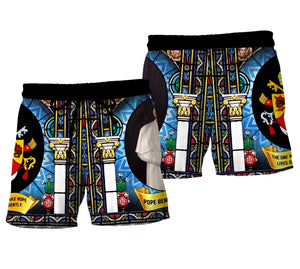 Pope Benedict Xvi Men Shorts / S Qm1052