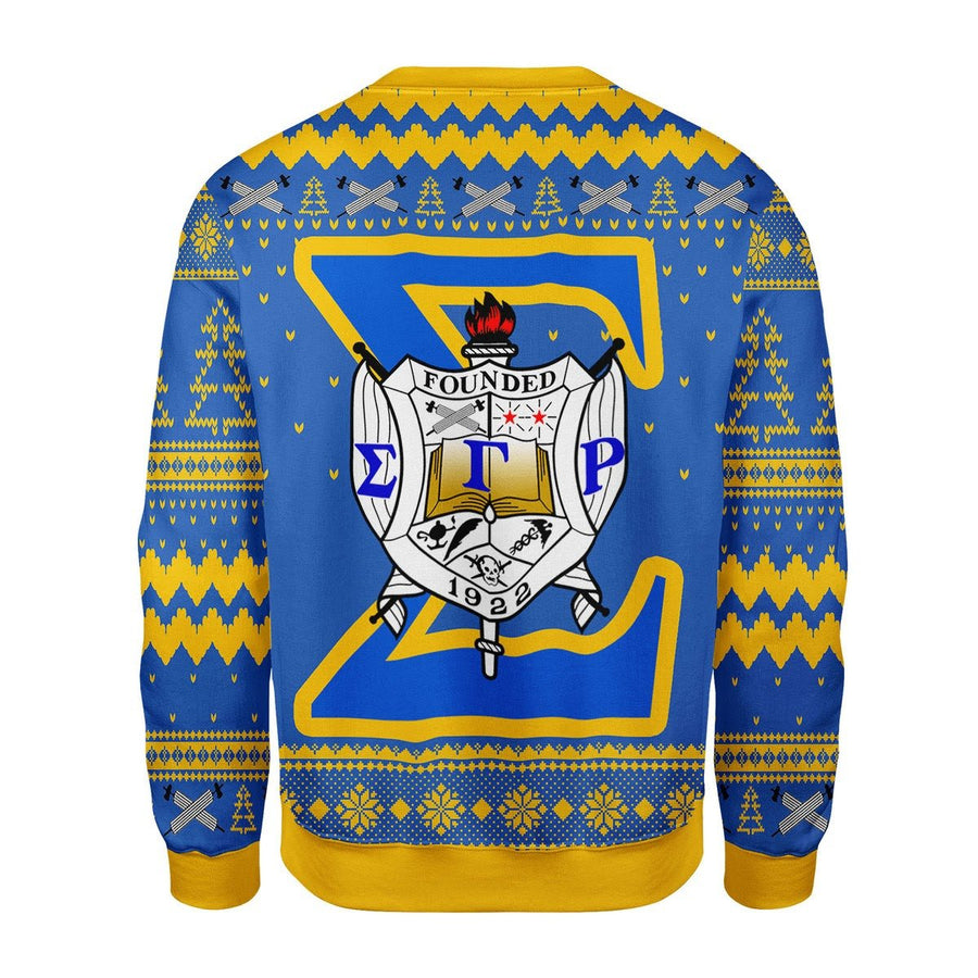 Sigma Gamma Rho Christmas Sweater G284