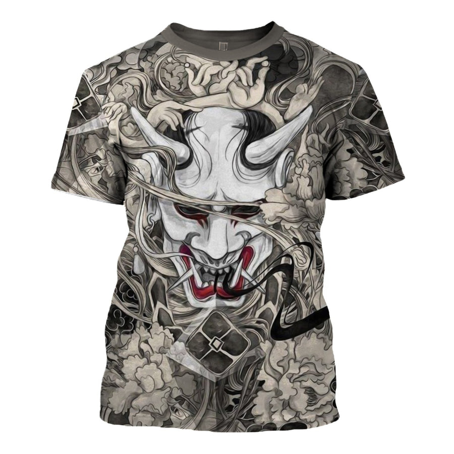 Oni Mask T-Shirt / S Qm1460