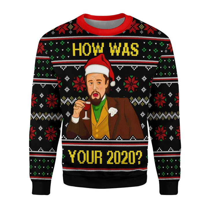 How Was Your 2020 Ugly Christmas Sweater / S Qr1766