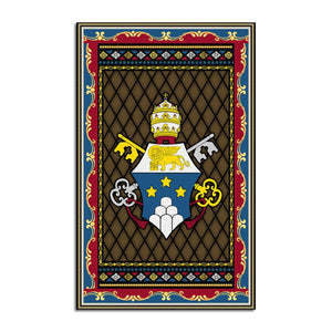 John Paul I Coat Of Arms Rug Qm1392