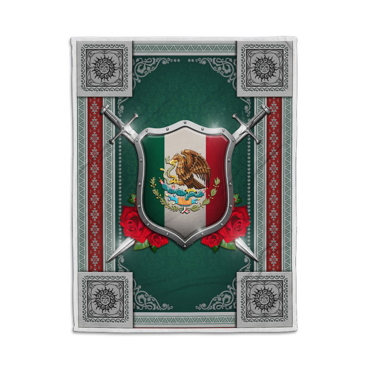 Mexico Coat Of Arms Blanket Qm1398