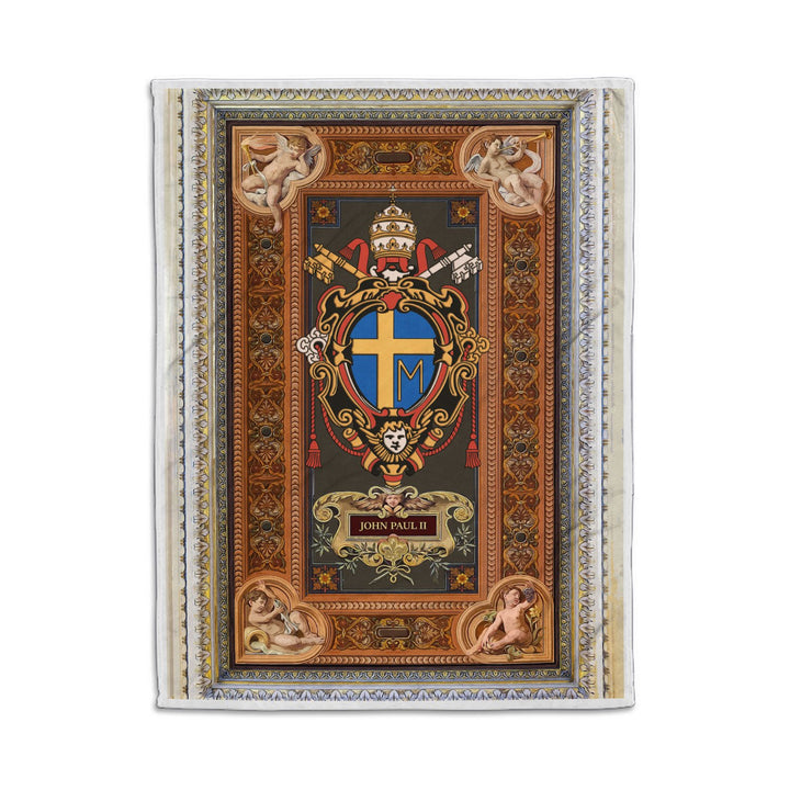 Pope John Paul Ii Blanket Qm1414