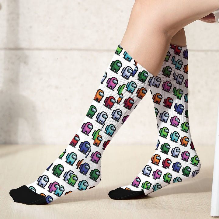 Among Us Socks (18X3.5 Icnhes) / Pack 1 G775