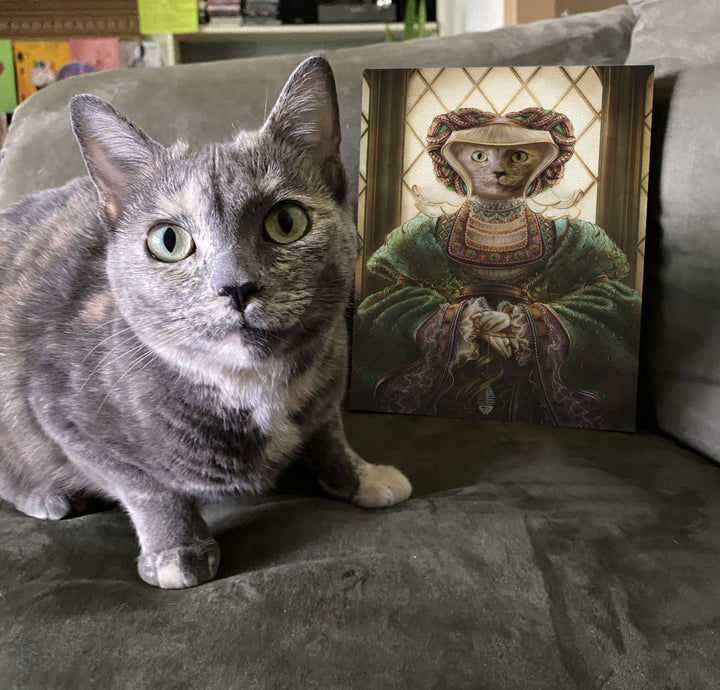 Anne of Cleves - Custom Pet Canvas