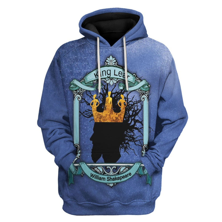 King Lear - William Shakepeare Hoodie / S Vn632