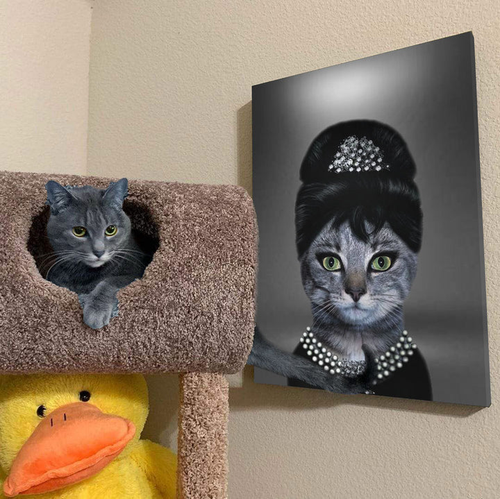 The Fashion Icon - Custom Pet Canvas