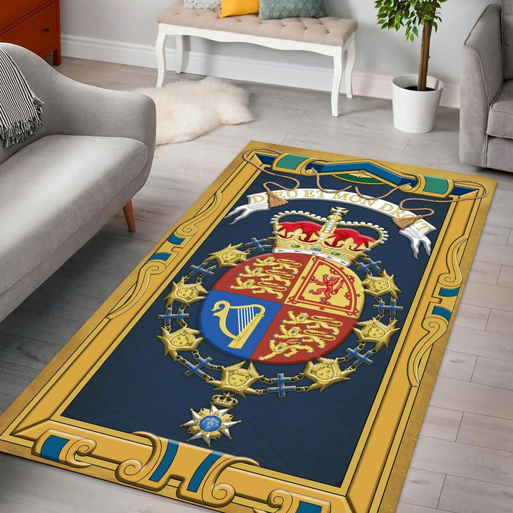 Queen Elizabeth Ii Rug / Small (3 X 5 Feet - 35 59 Inches) Qm1161
